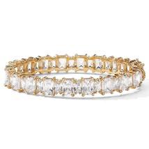 PalmBeach Jewelry 36.50 TCW CZ Tennis Bracelet ... - $59.98