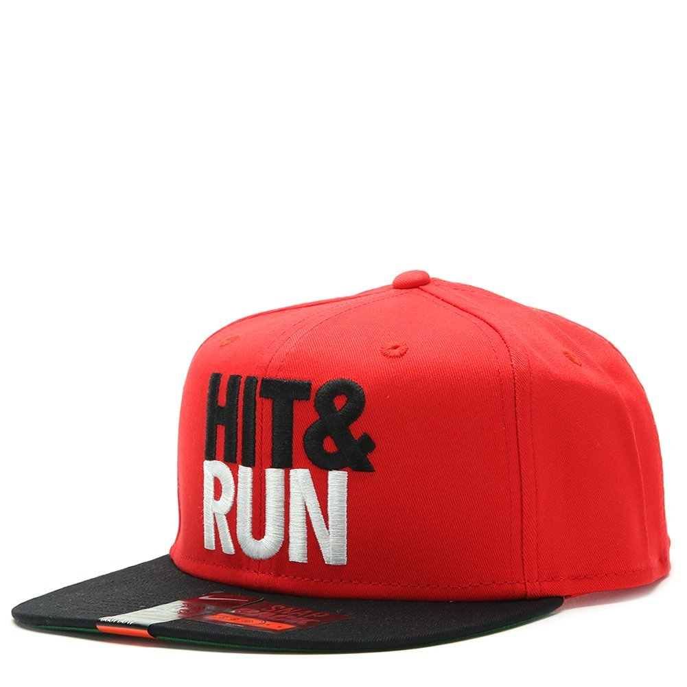 Nike Futura Hit & Run Snapback 616109 Crimson Red/Black, One Size