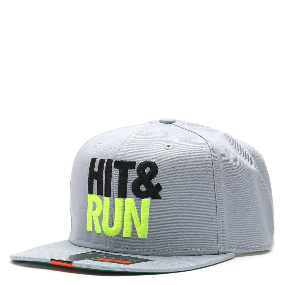 Nike Futura Hit & Run Snapback 616109 Grey/Black/Neon Green