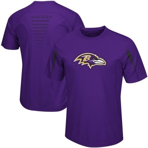 Baltimore Ravens Shirt Men's NFL Fanfare VII Cool Base Performance Tee Big