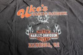 UKES Harley Davidson Kenosha WI Shirt 2XL - $12.86
