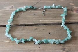"""18"""" Jade Necklace - $12.86"""
