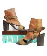 Diba True Women's Italian Love Sandal Tan Multi Leather SZ 10 - $44.95