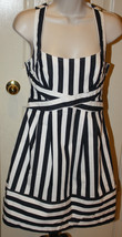 Anthropologie Nanette Lepore $298 Navy White Striped Nautical Waterfront... - $162.56 CAD