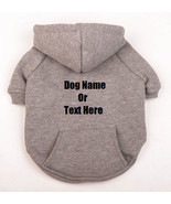 Custom Personalized Design Your Own Dog Hoodie Sweatshirt (Pet Clothing) - £13.91 GBP