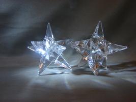Crystal Rosenthal Crystal  Star Candlestick Holders - $80.00
