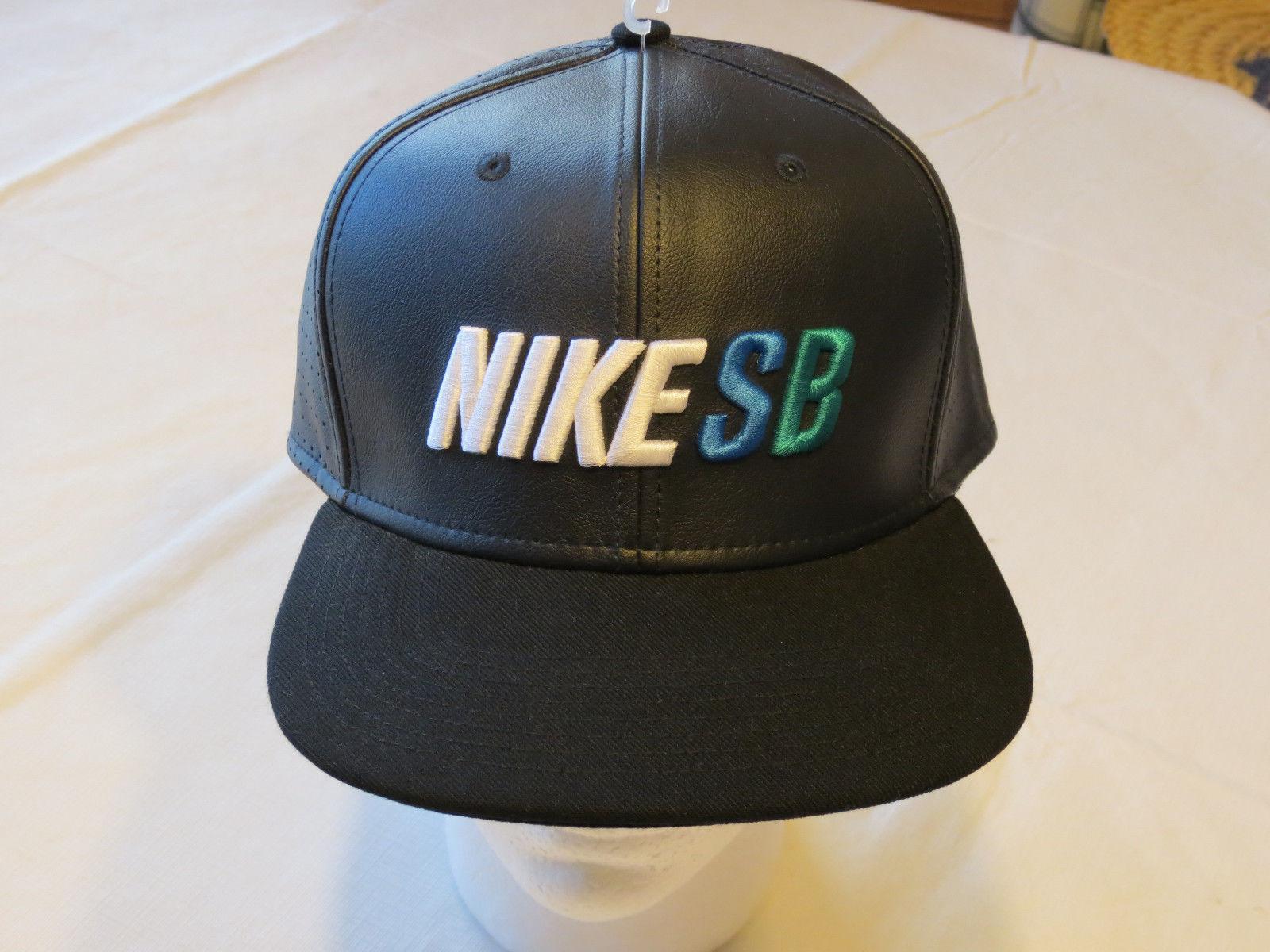 Nike SB hat cap skateboarding Men's Adult unisex snapback 833461 010 black OS