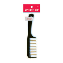 "Annie Styling Pik Hair Brush w/ Metal Teeth Wide Comb 8"" Long #48 *Rando... - $5.15"