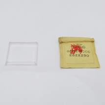 NOS For SEIKO 6602 5000 Watch Glass Crystal Plexi-Glass Spare Part C173F - $24.96