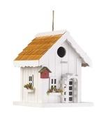 White Trellis Birdhouse - $25.00