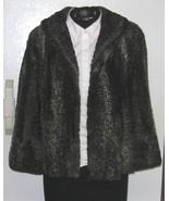 Retro/Vintage Persian Lamb Coat/Jacket-Silver Grey & Black-Sz. Small or ... - $49.99