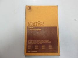 Caterpillar 3208 Truck Engine Parts Manual 32Y1 to 32Y68440 SEBP1239-01 ... - $29.69