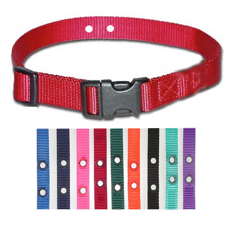"(3) Petsafe Compatible Inground Nylon Replacement Dog Collars 3/4"" Color Choice"