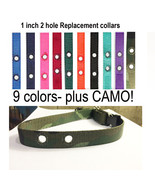 """3/4 """" Dog Fence Replacement Collar Strap  RFA 41 Camo + Colors - $8.90"""