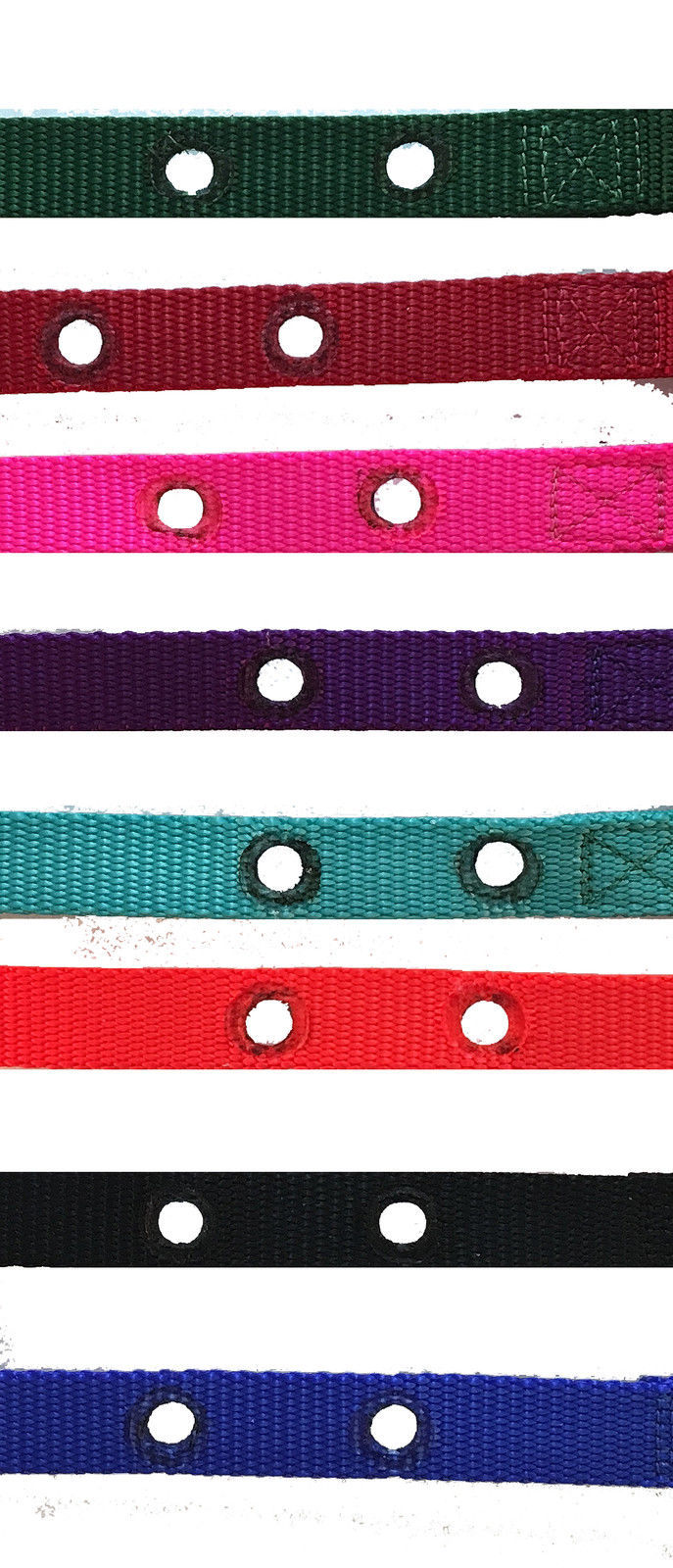"PETSAFE COMPATIBLE 1 inch 2 HOLE 1.25"" APART Universal Replacement collar strap"
