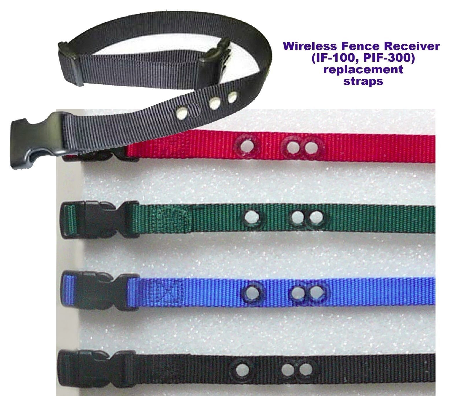 PETSAFE PIF-300 1 inch  replacement collar strap- all colors
