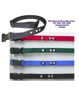 PETSAFE STAY AND PLAY 3/4 inch replacement collar strap- all colors - $7.12