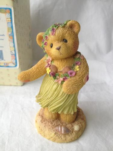 Cherished Teddies Leilani Sending Warm Friendly Island Breezes 302627 Box Papers