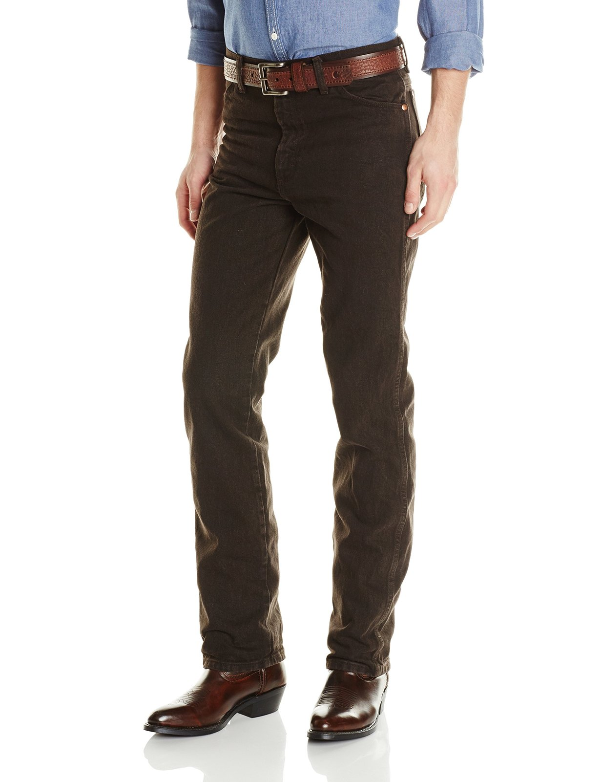 Centenario Mens Cowboy Denim Jeans Color Indigo