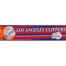 "Los Angeles Clippers Official NBA 12""x3"" Bumper Sticker by Wincraft [Misc.] - $2.99"