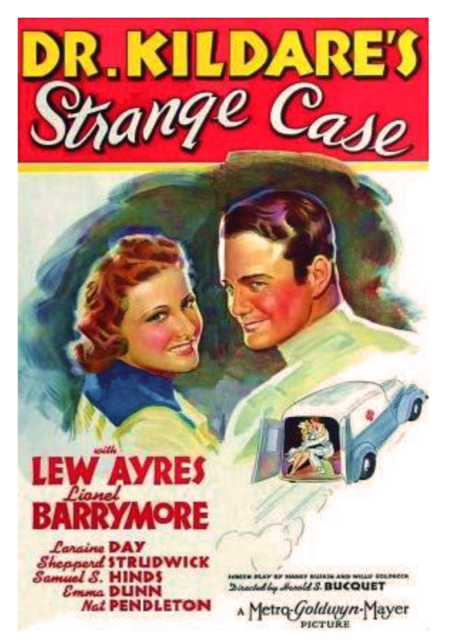 Dr Kildares Strange Case DVD - 1940 B/W Classic 4.5 star Drama Lionel Barrymore