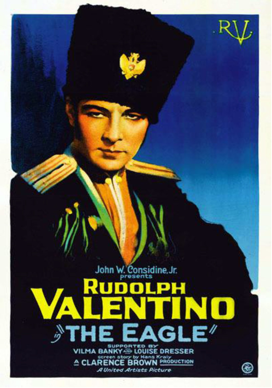 Rudolph Valentino The Eagle DVD - 1925 Classic Cossack Love Story B/W SILENT
