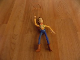 "Disney Pixar Toy Story Sheriff Cowboy Woody 7"" Action Figure with Lasso ... - $15.00"