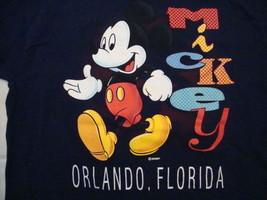 Vintage Walt Disney World Orlando Florida Mickey Mouse Souvenir T Shirt Size L - $19.79