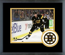 David Backes Boston Bruins 2016-17 Action on Ice - 11 x 14 Matted/Framed Photo - $42.95