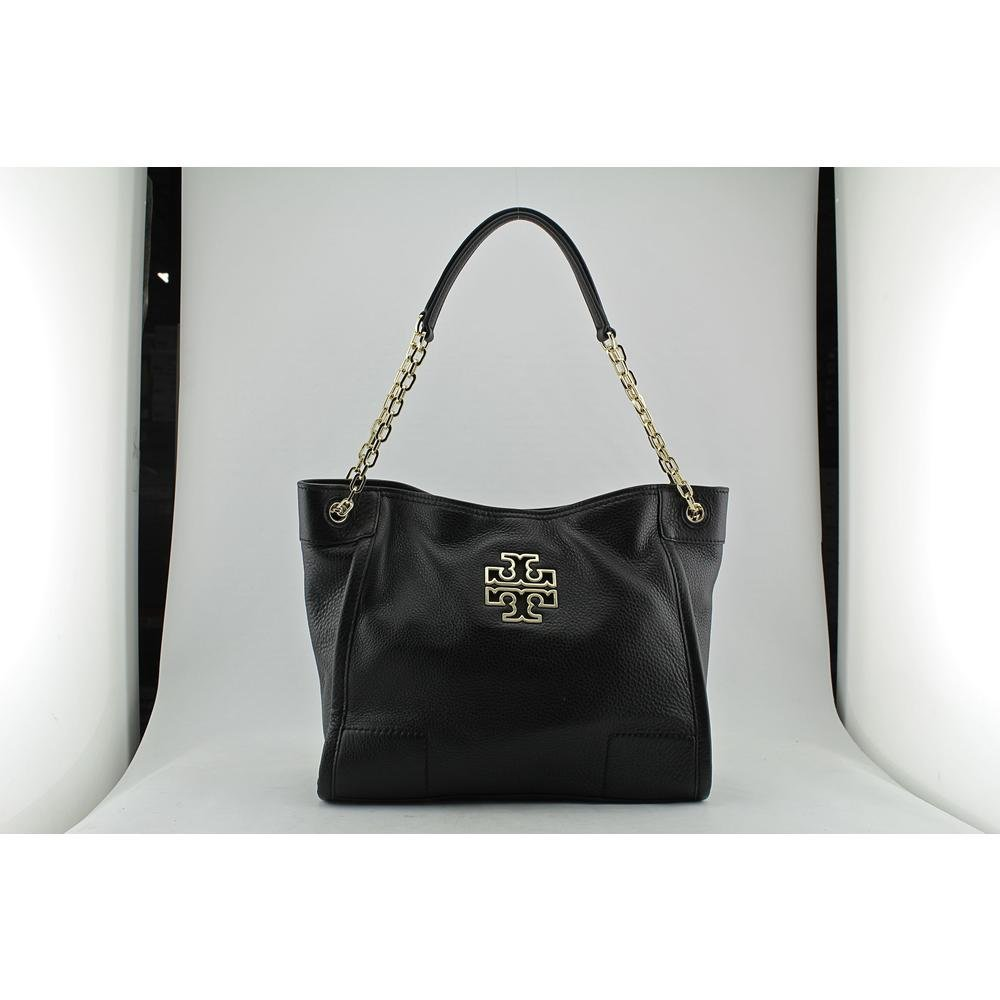 742eb8980740 Tory Burch Small Britten Leather Tote Black and 50 similar items.  61rgse9yl4l