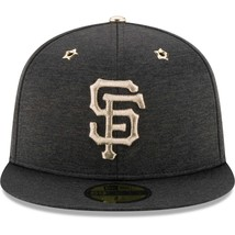 NEW ERA SAN FRANCISCO GIANTS 2017 ALL STAR GAME BLACK 59FIFTY CAP Size 7... - $565,59 MXN