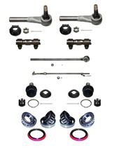 14 Piece Tie Rod  Ball Joint Bearing Kit fits 1986-96 Ford F-150 (2 Whee... - $112.70