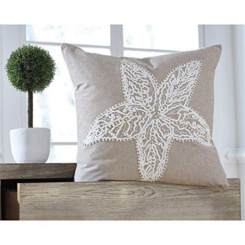 Ashley Furniture Signature Design - Anshel Starfish Decorative Throw Pillow Cove
