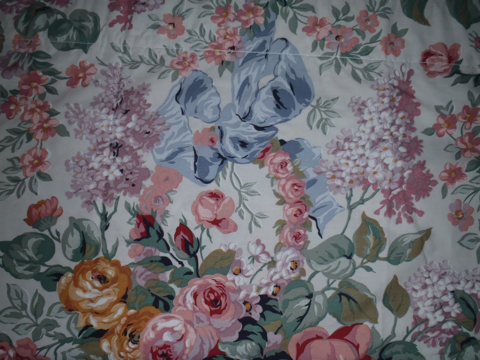 Ralph Lauren Rod Pocket Valance ALLISON Country Floral 17x82