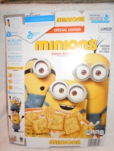 General Mills Special Edition Minions Cereal Box Empty 2016 - $3.99