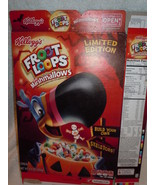 Kellogg's Limited Edition Fruit Loops Halloween Cereal Box Empty 2016 - $5.99