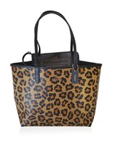 Coach Ocelot Reversible City Tote Shoulder Bag With Pouch - $346.50