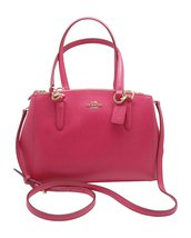 Coach Crossgrain Leather Small Christie Carryall Bag - $391.05