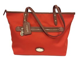 Coach Tote in Polyester Twill Handbag F37336 - $346.50