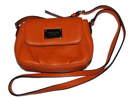 Michael Kors Flap Leather Small Crossbody Messenger Bag - £150.42 GBP