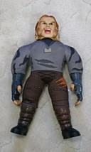 "Sabertooth 21"" Talking Doll Plush Wolverine Superhero Marvel Comics Work... - $19.78"
