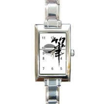 Ladies Rectangular Italian Charm Watch Japan Gift model 16636174 - $11.99