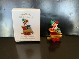 Hallmark KEEPSAKE Ornament HAPPY HELPER MINIATURE 2011 - $10.00