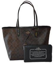 Coach Signature Reversible PVC City Large Tote Bag Handbag - $346.50