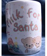 """Precious Moments(Enesco) """"Milk for Santa"""" Porcelain Cup - $11.00"""