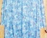 Vintage day dress lg blue orange black white thumb155 crop