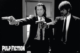 Pulp Fiction Guns Poster - $5.90