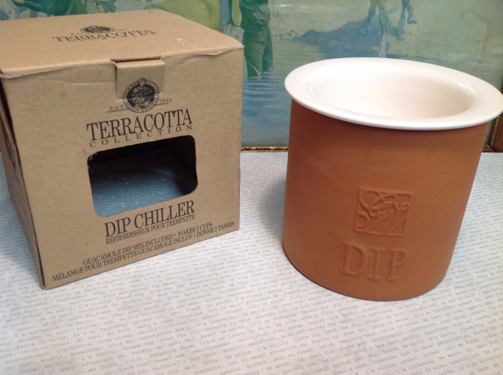 Terracotta Collection Ceramic Dip Chiller