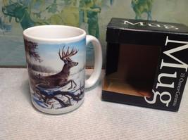Mug World 15oz Ceramic Mug w Deer NEW