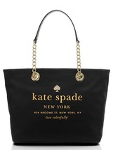 Kate Spade New York East Broadway Coal Tote Black - £248.37 GBP